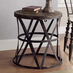 Found it at Wayfair - Heraldine End Table
