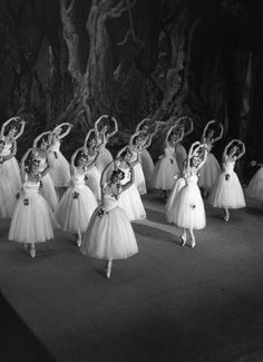 The Ballet Russe de Monte Carlo performing Giselle at Drury Lane in London, 1937 - from the Getty Images Gallery