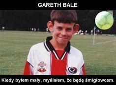 Walijczyk w dzieciństwie myślał, że będzie śmigłowcem • Gareth Bale posiada odstające uszy • Zobacz śmieszny obrazek z Bale'em >> #bale #football #soccer #sports #pilkanozna #funny
