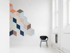 Fazett wall sound absorbing system for Swedish  brand Zilenzio. zilenzio.se