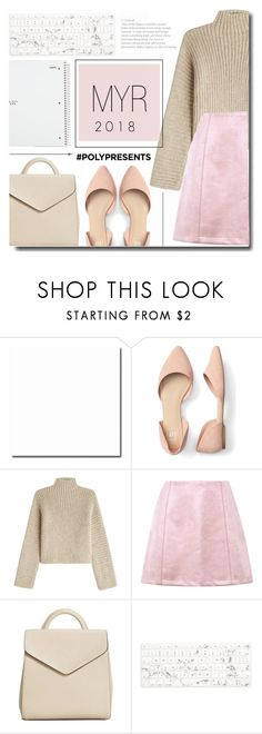 """#PolyPresents: New Year's Resolutions"" by kts-desilva ❤ liked on Polyvore featuring Rosetta Getty, MANGO, Recover, Five Star, contestentry and polyPresents"