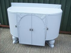 Lovely Art Deco Sideboard available at Calico Cat Vintage Furniture. http://www.calico-cat.co.uk/product/?pid=109211