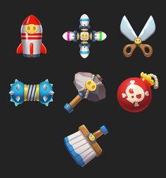 art work, Bob Wu : a. Game Ui Design, Prop Design, Halloween Templates, 2d Game Art, Japan Games, Game Props, Mobile Art, Game Character Design, Game Icon