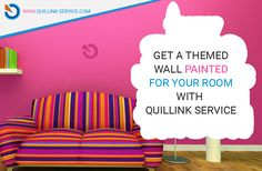 Get Wall Painted Room from Quillink Service.