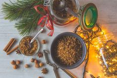 Mézeskalácsos házi müzli Food Photo, Advent, Desserts, Christmas, Tailgate Desserts, Xmas, Deserts, Postres, Navidad