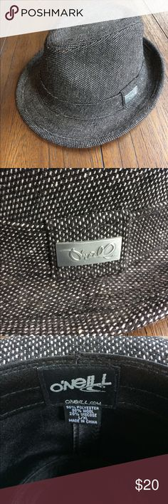 O'Neill Fedora Hat EUC O'Neill Tweed Fedora. Size L/XL. Wound up being too big. O'Neill Accessories Hats