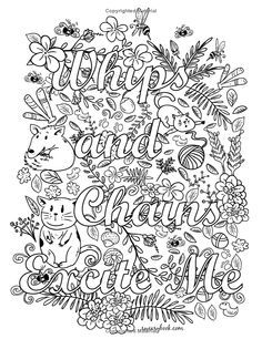 Color Me Filthy A Kinky Coloring Book For Adults