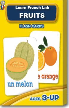Cute printable flash cards to learn the names of fruits in French. French Flashcards, Discovery Bottles, French Resources, Bilingual Education, French Words, French Lessons, France, Home Schooling, Learn French