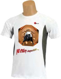 Camiseta - Toro rompiendo muro