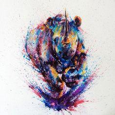 De très belles peintures à l'eau signées Liviing