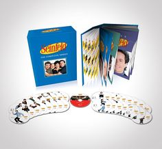 "Seinfeld: The Complete Series - This box set includes all 9 seasons of ""Seinfeld"" in all their glory. That's 180 episodes of George, Jerry, Elaine, Kramer doing…well, basically doing nothing, but making us laugh and feel better about ourselves as humans."