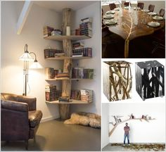 25 Cool Tree Inspired Furniture Designs You'll Love 1