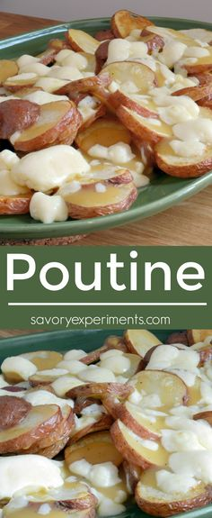 ... Dishes on Pinterest | Poutine, Poutine Recipe and Cheese Curds