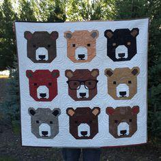 Bjorn Bear (pattern by Elizabeth Hartman)