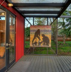 1000 images about camano sculpture garden on pinterest for Dan nelson architect