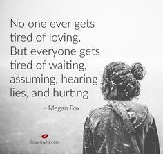 Over and over again.. when no effort is being made to follow through with the empty promises
