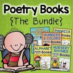 Poetry Books {The Bundle} - Nursery Rhymes, Alphabet, Numbers and colors, High Frequency Words and Phonics...Let's Learn S'more!