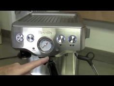Seattle Coffee Gear How-To Guide Video: Programming the Breville Infuser BES840XL