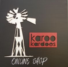 Some of our products are now also available through Karoo Kardoes. Visit their Facebook page at Facebook/KarooKardoes or order at karoo.kardoes@gmail.com