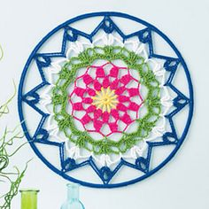 Ravelry: Mandala Wall Art pattern by Jennifer E. Ryan, for sale