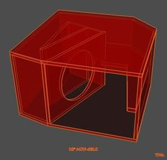 Speaker Plans, Sub Box, Subwoofer Box, How To Plan, Speakers, King, Cabinet, Woodworking Projects, Speaker Design