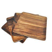 Acacia Wood plates