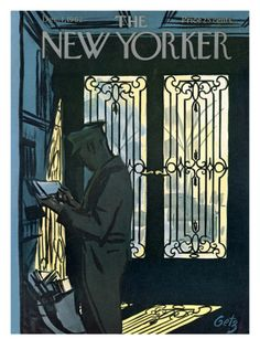 The New Yorker Cover - December 1, 1962 Giclee Print by Arthur Getz at Art.com