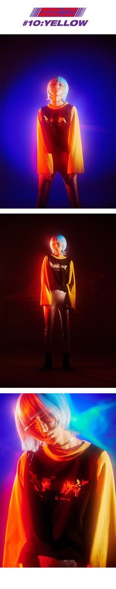 NEON-long sleeve_yellow - UNG LAYER