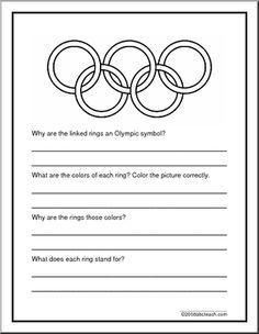 Olympics Theme Unit