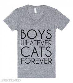 BOYS WHATEVER | BOYS WHATEVER CATS FOREVER #Skreened