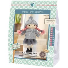 Kit a Maglia Bambola Astrid Knit Collection