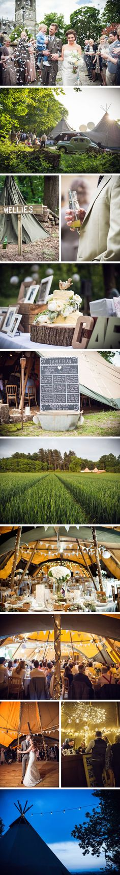 Here's a wedding reception held in what i consider to be the ultimate festival tent, a Papakata Teepee. They look amazing and our mates at papakata do a great job, have some awesome decoration and furniture and always look after our wedding parties.