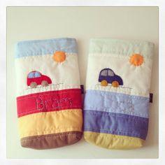 Porta pañales CaroMia con el nombre del bebe bordado! www.facebook.com/micaromia