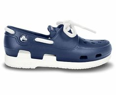 Crocs Kids' Beach Line Lace Boat Shoe | Kids' Comfortable Boat Shoes | Crocs Official Site