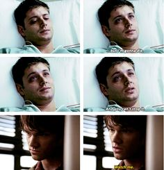 THIS BROKE MY HEART SO MUCH IM LIKE DEAN HOW DARE YOU GIVE UP LIKE THAT