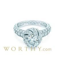 1 CT Flanders Cut Solitaire Tiffany & Co. Ring, F, IF-VVS1 Sold at Auction for $100,310