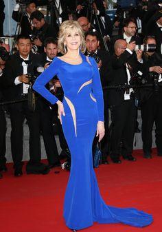 Jane Fonda au Festival de Cannes