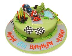 Roary The Racing Car by Say it with Cake, via Flickr