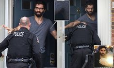 Daryush 'Roosh' Valizadeh is photographed for the first time since an international storm over his claim rape on private land should be legal - at his mother's home in Silver Spring, MD.