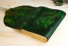 Tree Of Life Journal, Forest  Green. LIKE A fairy Tale...