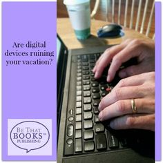 Are Digital Distractions Ruining Your Vacation? Computer Keyboard, Tech, Vacation, Digital, Books, Vacations, Libros, Computer Keypad, Book