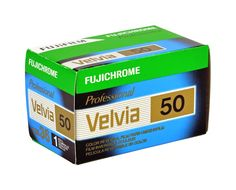 Fuji Velvia 50 is a low-speed color reversal film with a nominal sensitivity of ISO 50/18°. The ultra fine grain, outstanding sharpness and natural color rendering make it one of the most popular color slide films on the market. A...