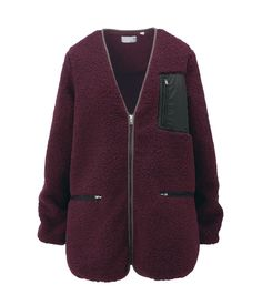Undercover x Uniqlo 'UU' fall 2012 fleece cardigan  By far the best piece in this upcoming collection.  FUCK IT I'M PROBABLY JUST GOING TO GET THIS IN AN XL FOR MYSELF