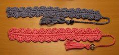 Crocheted Shell Bookmark Free Pattern.