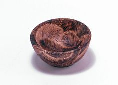 Woodburning Feather Bowl by NewmanHomestead on Etsy, $29.00