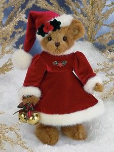"Bearington Bears - Jingle Belle, Jingle Belle is the eighth edition to Bearington's series of limited edition holiday musical bears. She plays ""Jingle Bells"". Retired 2010"