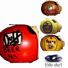 Ahorra con tu cerveza preferida  Marranito borracho  Estos marranitos tienen en el diseño de una lata de cerveza. Escoge tu cerveza preferida y ahorra en ella. Diseños personalizados, solo por encargo. #alcancia  #marranitosalcancia #decoracióninteriores #diseñointerior #diseñopersonalizado Escríbenos en  Fiftythr3@gmail.com +57 3174035352  O Síguenos a  https://m.facebook.com/Fiftythr3-252327511783182/