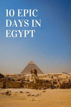 Classic 10 day Egypt itinerary done right with the pyramids and sailing on a Nile cruise. Learn what to see, do, eat, and stay in this travel guide. Egypt Travel, Africa Travel, Travel Around The World, Around The Worlds, Travel Guides, Travel Tips, Travel Advise, Luxor Temple, Valley Of The Kings