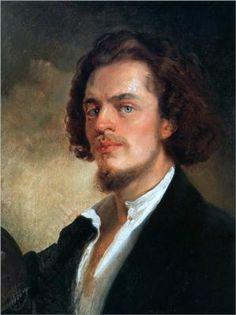 Konstantin Egorovich Makovsky Self-Portrait (1856)