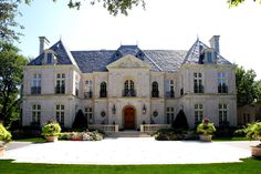 Giant luxury French style mansion